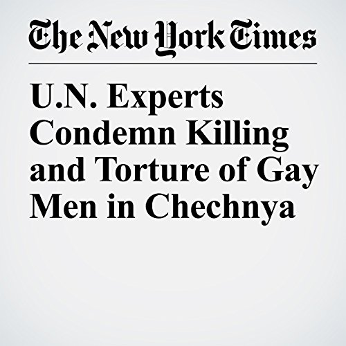 U.N. Experts Condemn Killing and Torture of Gay Men in Chechnya copertina