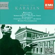 Mozart: Symphony No. 33; German Dances / Schubert: Symphony No. 9 - The Great 1946 recordings