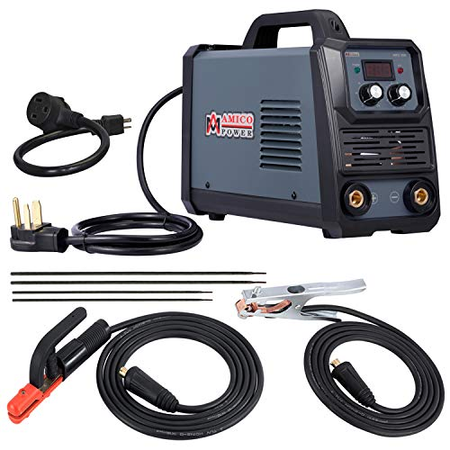 Amico ARC-200, 200 Amp Pro. Stick Arc DC Inverter Welder, 80% Duty Cycle, 100~250V Wide Voltage Welding Machine