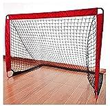 Objetivos Objetivos de fútbol, fútbol Deportes del patio trasero para los objetivos de formación del patio trasero para la práctica de fútbol con elástico neto de 160 cm portátil portería de fútbo