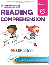 Lumos Reading Comprehension Skill Builder, Grade 6 - Literature, Informational Text and Evidence-based Reading: Plus Online Activities, Videos and Apps (Lumos Language Arts Skill Builder) (Volume 1)