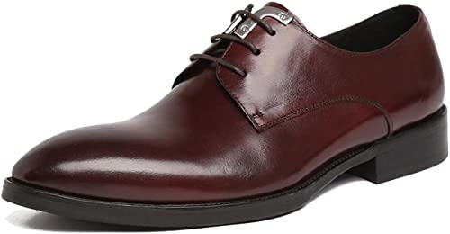 YCGCM Chaussures pour Hommes, Angleterre, Mode, Affaires, Chaussures Basses, Lacets, Chaussures De Mariage