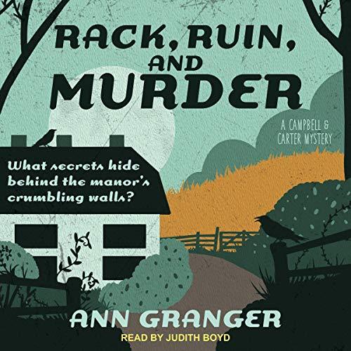Rack, Ruin and Murder audiobook cover art