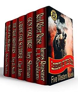 Legends of the Gun: Five Classic Western Novels by [James Reasoner, Troy D. Smith, Jory Sherman, Michael Newton, Clay More, L. J. Washburn]