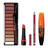 Rimmel Spice Makeup Kit With Eyeshadow, Mascara,...