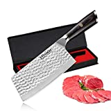 Best Cleavers - Meat Cleaver 7 Inch Cleaver Knife German High Review