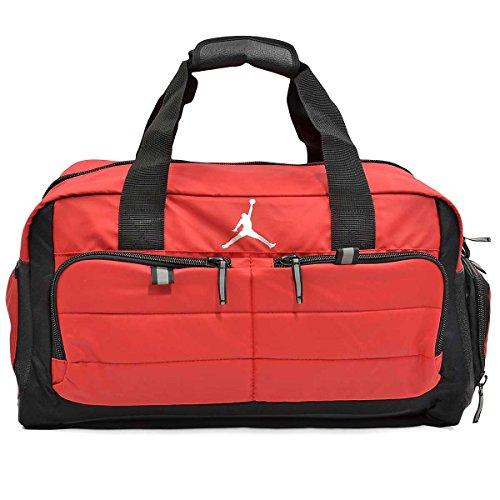 Jordan All World Duffel Bag (Gym Red)