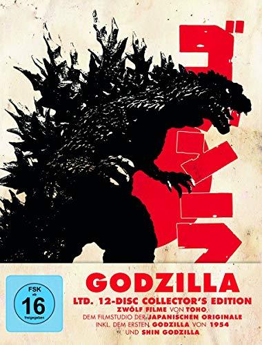 Godzilla 12-Dics Collector's Edition [Blu-Ray] [Import]