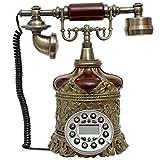 FTFTO Equipo de Vida Teléfono Retro/Teléfono Fijo Antiguo Europeo/Estilo Retro Teléfono Antiguo Oficina Decoración del hogar