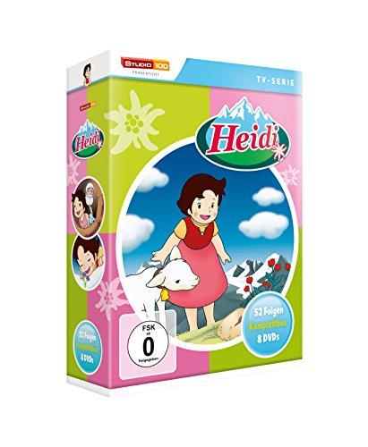 Heidi (Klassik) - TV-Serie Komplettbox [8 DVDs, Digital restauriert]