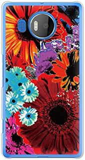 携帯電話taro Windows Phone Lumia 950XLケース (flower) Microsoft LUMIA950XL-OCA-0151