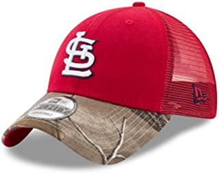 St. Louis Cardinals Realtree Camo Bill Trucker 9FORTY Adjustable Hat/Cap