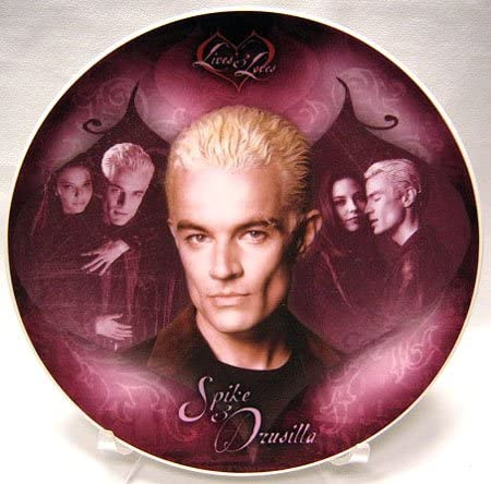 Buffy the Vampire Slayer Series Collector 3 Loves Translated Plate: Lives Free shipping on posting reviews