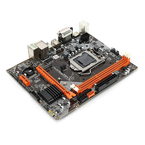 Universelles Desktop-Motherboard, B75 M.2 1155-Pin USB3.0 SATA3 DDR3 Desktop-Motherboard, 6-Kanaigabit-Ethernet-Soundkarte Ersatz-Laptop-Motherboard, professionelles Motherboard
