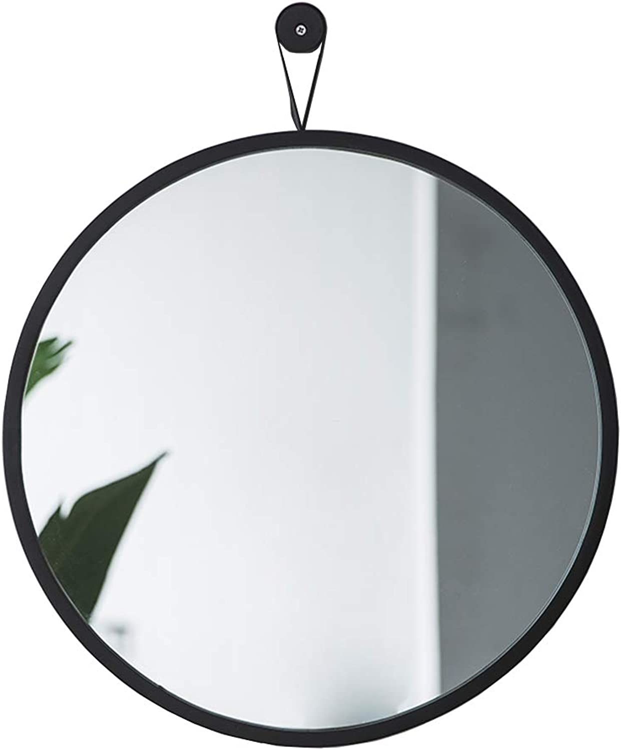 Round Decorative Bathroom Mirrors with Hanging Loop,Wall Hanging Mirror,Creative Makeup Shaving Mirrors