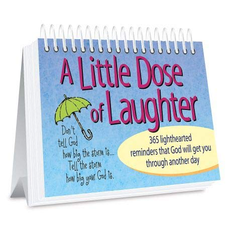 Page a Day Little Dose of Laughter Book - Religious, 365 Page Book