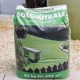 Schola Dolomitkalk | 25-kg-Sack | Kohlensaurer Magnesiumkalk aus dolomitnatürlichen Lagerstätten | Anwendung im Frühjahr oder Herbst