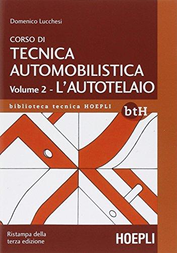 Corso di tecnica automobilistica: 2
