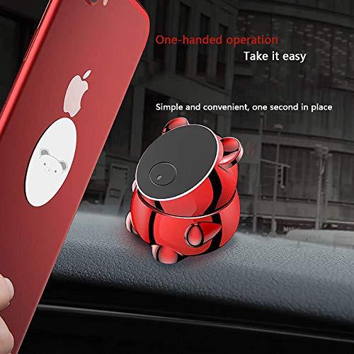 FTFTO Handyhalterung Auto Handyhalterung Magnet Universal 360 Grad Drehung Kfz LüFtung Halter füR Huawei und Jedes Andere Smartphone Oder GPS-GeräT, AutozubehöR - 4