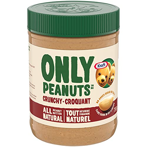 KRAFT Natural Peanut Butter, Crunchy, 750g