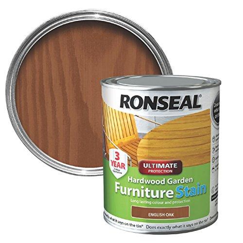 Ronseal HWFSDO750 Hardwood FurnIture Stain English Oak 750ml