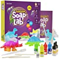 Dino Soap Making Kit for Kids - Dinosaur Science Kits for Kids All Ages - Indoor DIY Activity Craft Kits : Great Crafts Gift for Girls and Boys by Dan&Darci