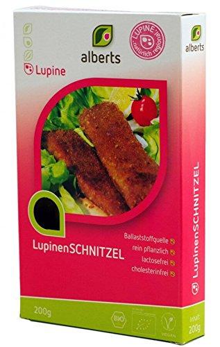 Alberts Bio Lupinen Schnitzel - 200g