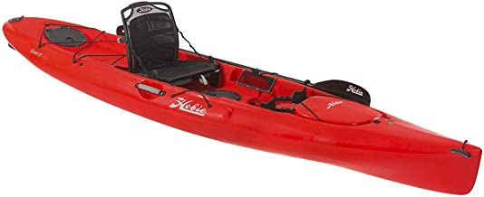 2017 Hobie Quest 13 Sit On Top Paddle Fishing Kayak Hibiscus Red