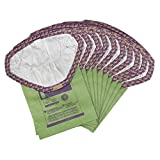ProTeam 107314 Intercept Micro Filter Bags with Open Collar and 6-Quart Capacity, 10-Pack of Replacement Vacuum Filters