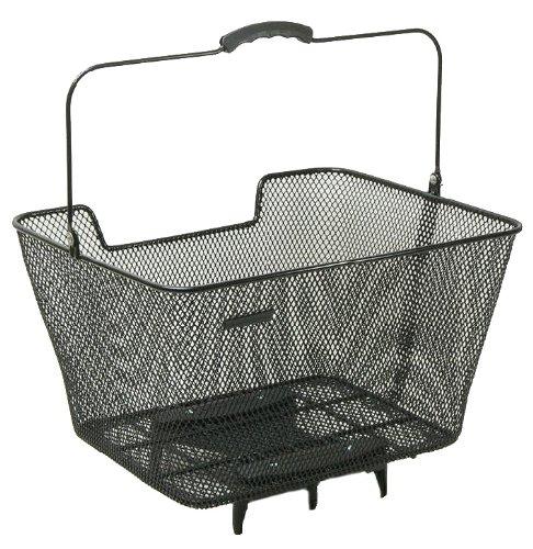 Pletscher Hinterradkorb-2128310000 Hinterradkorb, schwarz, 40 x 31 x 22 cm