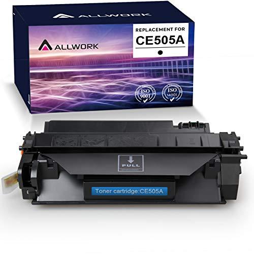 Allwork Compatible HP 80A CF280A 05A CE505A Toner Cartridge use for HP Laserjet P2035 P2055x P2055dn P2055d P2035n, HP Laserjet Pro 400 M401 M425 (Black)