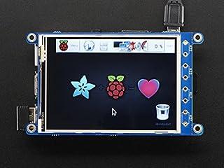 "PiTFT Plus 320x240 3.2"" TFT + Resistive Touchscreen - Pi 2 and Model A+ / B+ [並行輸入品]"