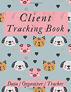 Client Tracking Book: Hairstylist Client Data Organizer Log Book with A - Z Alphabetical Tabs   Personal Client Record Book Customer Information   Salons, Nail, Hair Stylists, Barbers & More