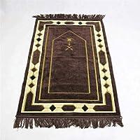 お祈りマット トルコ製 ムスリム礼拝用マット 礼拝用敷物 (Color : D)