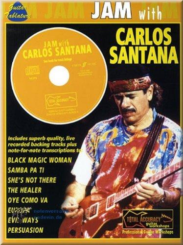 Carlos Santana - Jam with - Gitarre Noten   ©podevin-de [Musiknoten]