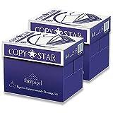 copy star 80gr carta a4 per fotocopiatrici e stampanti 80gr/mq, formato a4, confezione da 10 risme