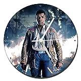 Star Wars The Last Jedi John Boyega Finn Orologio da Parete Wall Clock 20cm