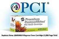 プレミアム互換機Inc。106r00654-pci交換カートリッジインクとトナーXerox Phaserのプリンタ用、マゼンタ