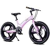 AI-QX Bicicleta Infantil para niños y niñas a Partir de 6 años   Bici 16-20 Pulgadas con Frenos   16-20' Edición Cruiser,Pink,20''