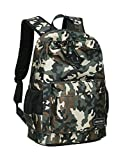Rucksack für Jungen,Camouflage Kinder Schultasche Rucksack Laptop Daypack Reisetasche (Dunkelgrün)