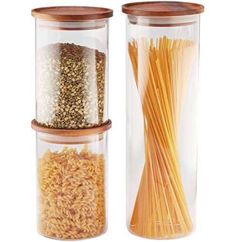 wood and glass jar - 1