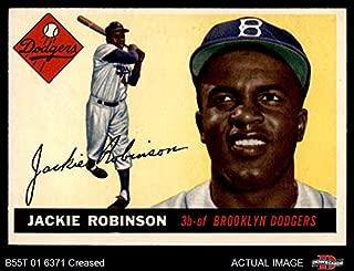 Best 1955 topps jackie robinson baseball card Reviews