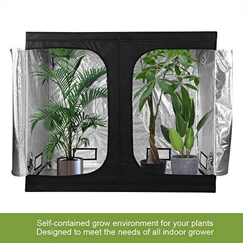 Blackpoolal Grow Growbox Grow Armario de Invernadero Tienda Water-Resistant PT200/ische Grow Tienda para Indoor pl/ántula Plantas Dise/ño