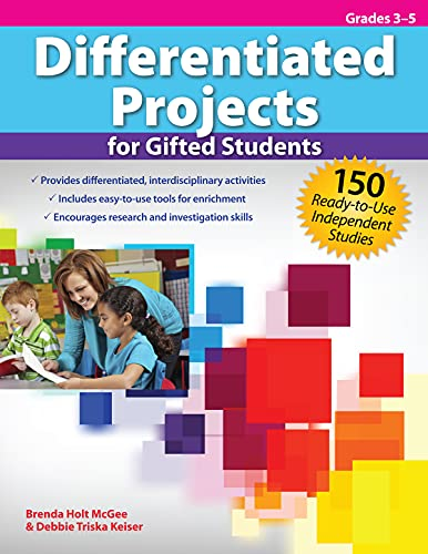 Differentiated Projects For Gifted Students 150 Ready To Use Independent Studies