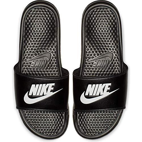 Nike Nike Benassi Jdi, Herren Flip Flop, Schwarz (Black/White), 36 EU