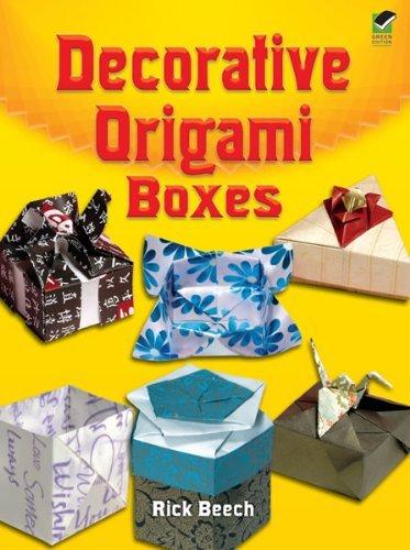 Decorative Origami Boxes (Dover Origami Papercraft) (English Edition)