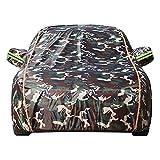 ASY Cubierta de Coche Impermeable Fundas para Coches Compatible con BMW E46 M3/M3 CSL/M3 CS/M3 GTR/M3 Competition Coupe/Cabrio Exterior Automóviles Cubierta Tarpa de Coche (Color : D, Size : Cabrio)