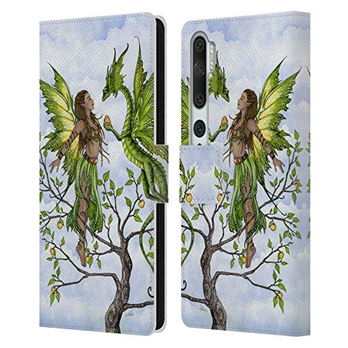 Official Amy Brown Fruitful Pixie Elemental Fairies Leather Book Wallet Case Cover Compatible For Mi CC9 Pro/Mi Note 10 / Pro