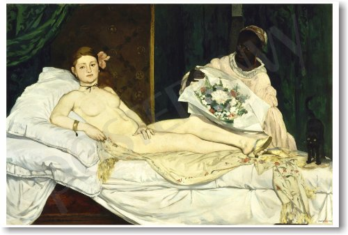 Édouard Manet - Olympia 1863 - NEW Fine Arts Poster