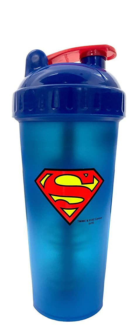 上がる豆許容Perfect Shaker Hero Series Superman Shaker Cup, 28 oz (800ml) by Perfect Impressions